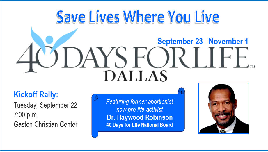 40 Days for Life-Dallas