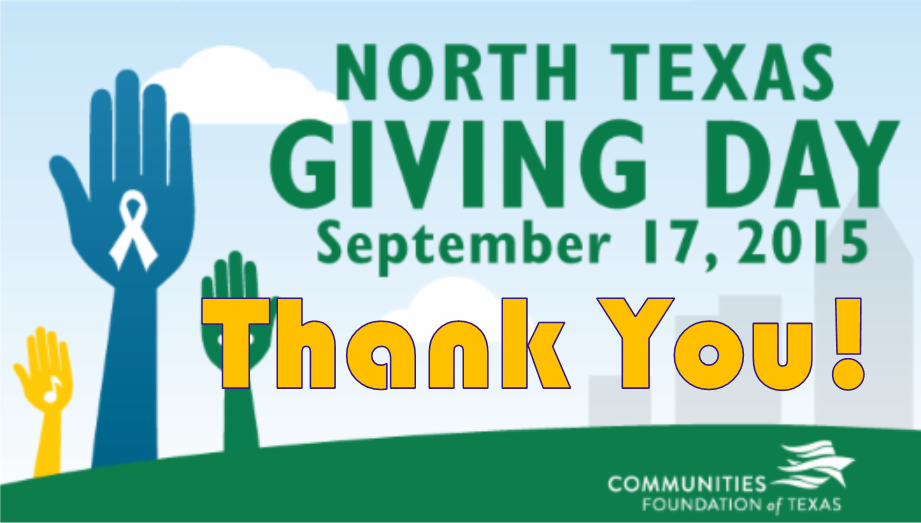 Give to save lives on North Texas Giving Day!