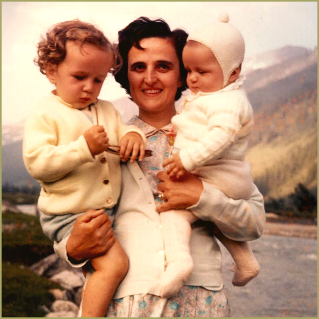 St. Gianna with her children